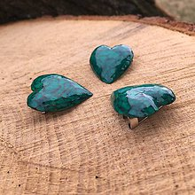 Odznaky/Brošne - Zelená brošňa - 10527018_