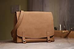 Na notebook - Kožená taška Suzi - 10528383_