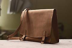 Na notebook - Kožená taška Suzi - 10528385_