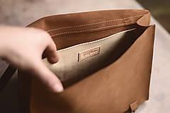 Na notebook - Kožená taška Suzi - 10528386_