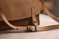 Na notebook - Kožená taška Suzi - 10528387_