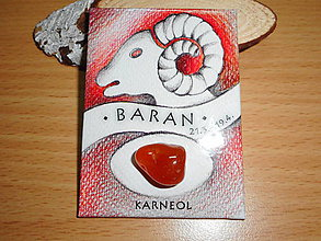 Magnetky - znamenie: BARAN - 10528627_