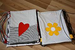 Batohy - Batoh/backpack červené srdce - 10525356_