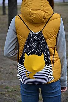 Batohy - Batoh/backpack mačka - 10525285_