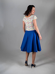 Šaty - Rozkvetlé-biobavlna-na míru/více barev - 10528905_