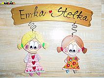 Tabuľky - Menovka - dvojica - 10527099_