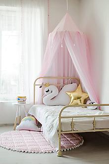 Textil - Ružový baldachýn pre ozajstné princezničky II - 10528871_