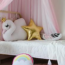 Úžitkový textil - Zlatá hviezda - 10528897_