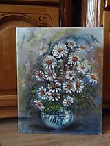 Obrazy - Poľné kvieťa, margarétky - 10525822_