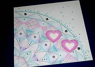 Papiernictvo - Pohľadnica svadobná...krehká krajka - 10527526_