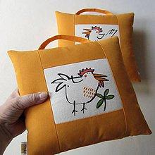 Úžitkový textil - KVOK-KVOK !!! - polštář - 10528963_