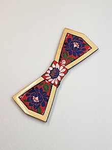 Doplnky - Pánsky drevený motýlik - 10525292_