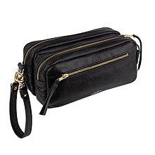 Tašky - Kožená kozmetická taška LAKY - 10526887_
