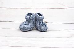 Detské súpravy - Modrá súprava macko zimná EXTRA FINE - 10526133_