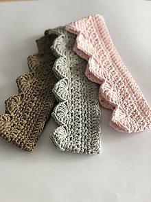 Detské doplnky - Háčkovaná korunka Princess / Crochet crown Princess - 10529005_
