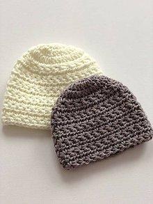 Detské čiapky - Háčkovaná čiapočka Star / Crochet hat Star - 10529040_