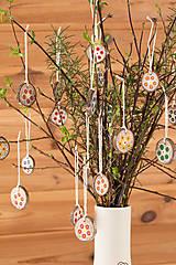 Dekorácie - Jarná i vianočná závesná dekorácia - 10525817_