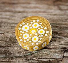 Odznaky/Brošne - Brošňa - žltá (leto) - 10525691_