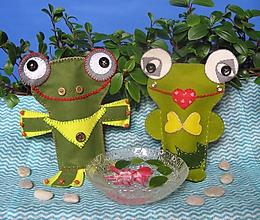 Bábiky - Na rovnakej vlne (Žabko a Žabinka) - 10528748_
