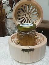 Potraviny - Darčekové balenie medu - vo vyrezávanej krabičke  - 10527327_