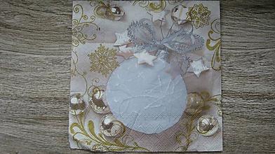 Papier - Servítka Vianoce, 1 ks - 10526090_