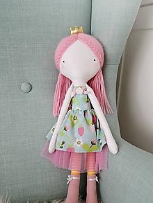 Hračky - Autorská bábika XIII. - Jahôdková princezná - 10526653_