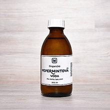 Suroviny - Organická kvetová voda PEPERMINT 200 ml - 10528792_