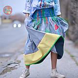 Sukne - Origo sukňa mag domčeky - 10529014_