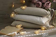Úžitkový textil - FILKI šupkový vankúš na spanie 55 cm - 10525236_