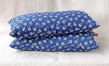 Úžitkový textil - Šupkový FILKI vankúš 40 cm (vzor modrotlač 181) - 10525223_