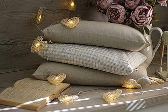 Úžitkový textil - FILKI šupkový vankúš na spanie 55 cm (poloľan 25 cm) - 10525233_