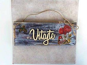 Tabuľky - Tabuľka-vitajte - 10531834_
