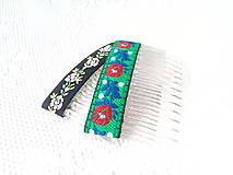 Ozdoby do vlasov - Folklore hair combs - 10532555_