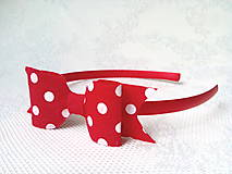 Ozdoby do vlasov - Sweet karkulka headband - 10532618_