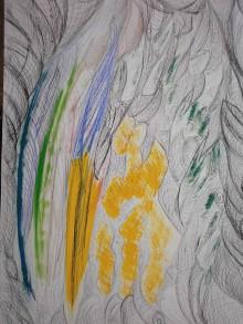 Kresby - zlom žltá - 10530166_
