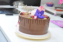 Zápich na tortu s číslom 9