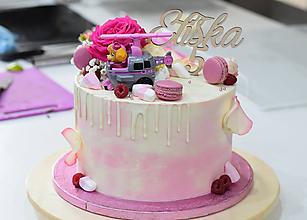 Dekorácie - Zápich na tortu s číslom 5 - 10529140_