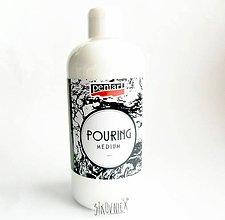 Farby-laky - Pouring médium (zrieďovač akrylových farieb), 500 ml - 10529251_