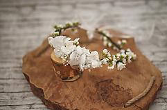 Ozdoby do vlasov - Kvetinový venček na prvé sväté prijímanie - 10532784_