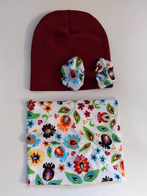 772efe6a7259 Jarný dvojvrstvovy set   jjduda - SAShE.sk - Handmade Detské čiapky