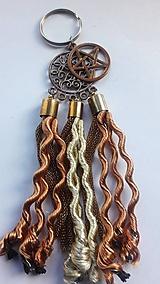 Drobnosti - Kľúčenka Pentagram - 10529868_