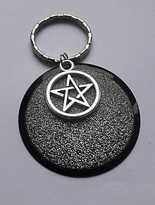 Drobnosti - Kľúčenka Pentagram - 10529818_