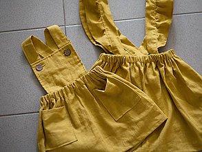 2453d9fc3efd Detské oblečenie - Ľanové sukničky na traky - 10529478