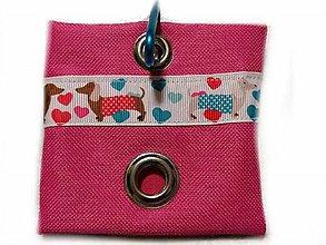 Pre zvieratká - Zásobník na WC vrecká Dachsie - 10529278_