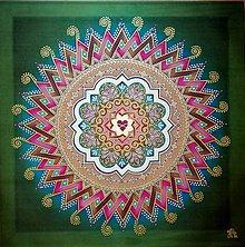 Obrazy - Mandala nekonečnej lásky a rodinného šťastia - 10531958_