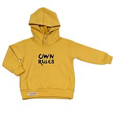 Detské oblečenie - Detská mikina - OwnRules yellow - 10532538_