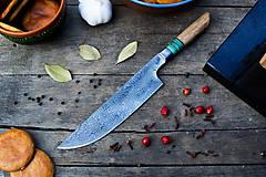 Pomôcky - Sada damaškových kuchynských nožov - 10530947_