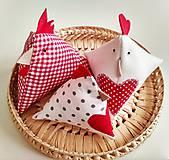 Dekorácie - Veľkonočné sliepočky - 10531202_