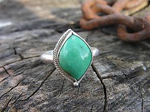 Prstene - Strieborny prsteň Ag925 Tyrkys - 10529726_