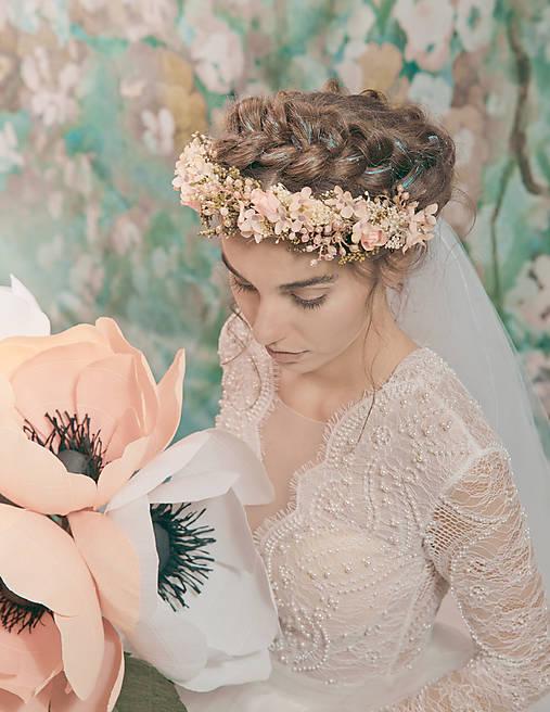 """Kvetinový polvenček """"moje šťastie"""""""